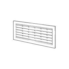 "Door Ventilator B151X2 - 12"" x 10"", White"