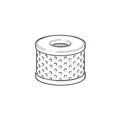 Biofuel Filter Element & Seal - 20 l/hr