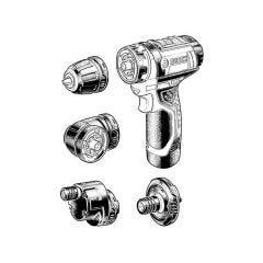 Bosch GSR 12V-15 FC Professional Cordless Drill/Driver
