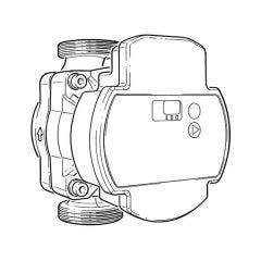 BritTherm™ BLACK15 15-60/130 Central Heating Circulator Pump