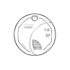 BRK® SC05UK Smoke & Carbon Monoxide Alarm