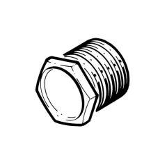 Metal Conduit Bushes Male Long - 20mm