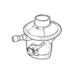Butane Low Pressure Regulator - 1 kg/hr