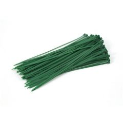 Cable Ties - 280 mm x 4.8 mm - Green- Pack Of 100