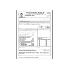 StT/UP/1 Certificate of Strength Testing of Gas Installations to IGEM/UP/1 Edition 2