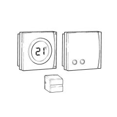 Danfoss CET2000B-RF Cylinder Thermostat & RX1-S Receiver