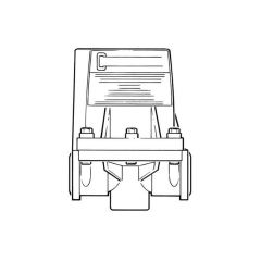 Cistermiser Low Pressure Urinal Flush Control Valve