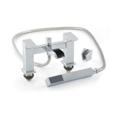 Cleopatra Waterfall Lever Bath Shower Mixer Tap