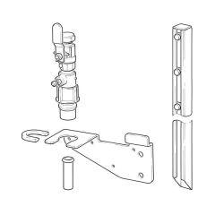 Clesse LPG Meter Box Stake Mounting Kit