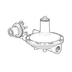 Clesse Propane Low Pressure Regulator - 40 kg/hr