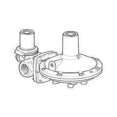 Clesse Propane Low Pressure Regulator - 60 kg/hr