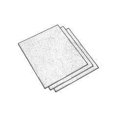 Coarse Grade Glass Paper Sheet - 230 mm x 280 mm
