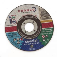 Combi Disc 115 dia. x 1.2 mm x 22.2 mm Bore - 13280 R.P.M.
