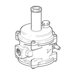 "Commercial/Industrial Regulator, 1/2"" - 13.7 to 30mbar"