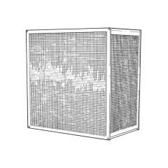 Condensing Unit Guard Small  H 750 W x 1050 D x 460mm
