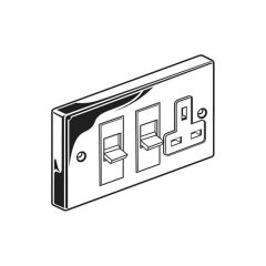 Cooker Control Unit - Chrome
