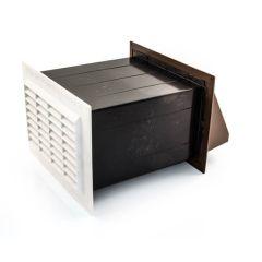 """Cotel96 Ventilator - 9"""" x 6"""", Brown/White"""