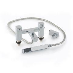 Cressida Quarter Turn Lever Bath Shower Mixer Tap