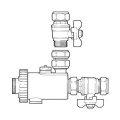 Cura Compact Magnetic Filter - 22mm