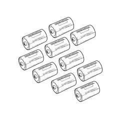 Duracell D Alkaline Batteries - Pack of 10