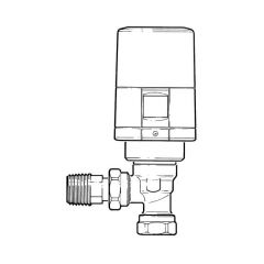 Danfoss ECO™ Combi Bluetooth TRV - 8/10/15mm