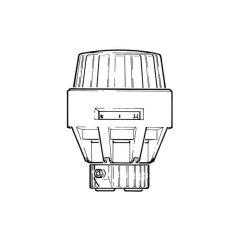 Danfoss RA Tamperproof TRV Sensor Head