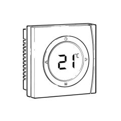 Danfoss TP5001B Programmable Room Thermostat