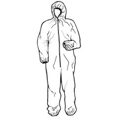 Disposable Coveralls - X Large