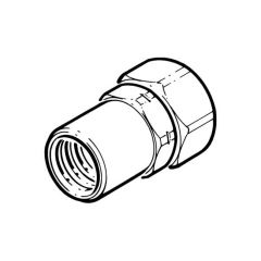 "Gastite Female Coupler Adaptor - DN15 x 1/2"" BSP F"