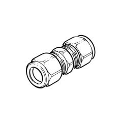 DN16 Compression Coupling - Solar Compression Fitting