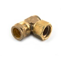 TracPipe® to Copper Comp. Elbow DN22 x 22mm