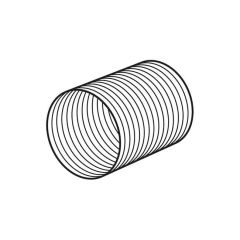 Domus Aluminium Round Duct 300mm x 100mm i.d.