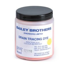 Drain Tracing Dye - 200g Yellow