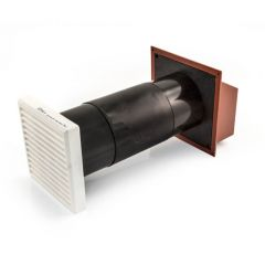 Draughtbuster DB5 Ventilator - Terracotta/White