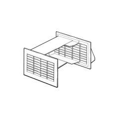 Draughtbuster DB93 Ventilator - Terracotta/White