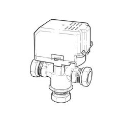 Drayton Motorised Diverter Valve - 3 Port 22mm