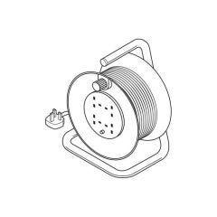 Drum Reel - 25 m - 240 Volt