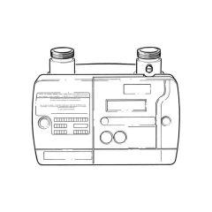 E6.G130 Electronic Gas Meter