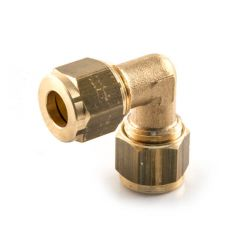 Elbow UK Compression - 10mm Brass
