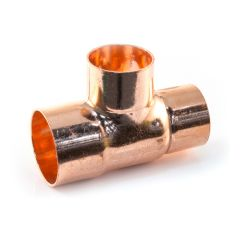 End Feed Reducing Tee - 35mm x 22mm x 28mm