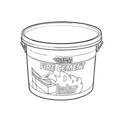 Everbuild® Fire Cement - 5kg Tub