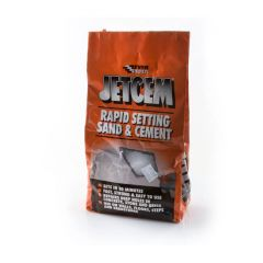 Everbuild Jetcem Sand/Cement Premixed - 2kg Bag