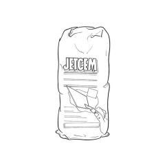 Everbuild Jetcem Waterproof Cement - 3kg Bag
