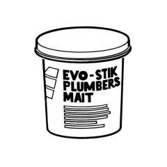 Evo-Stik Plumbers Mait® - 750g Tub