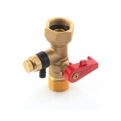 "Expansion Vessel Service Valve 3/4"" BSP Union x BSP PM"
