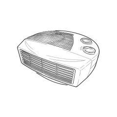 Fan Heater, 2 Kw