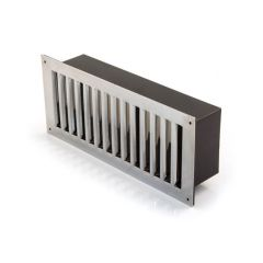 Floor Ventilator - Chrome Finish