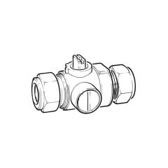 CP961 Flow Regulator Ball Valve - 22mm