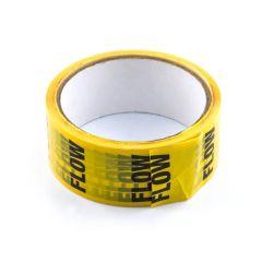 Flow Tape - 36mm x 33m Black on Yellow