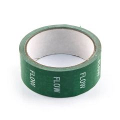 Flow Tape - 36mm x 33m White on Green